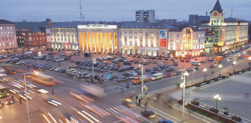 Ansnei opened op a new city — Kaliningrad