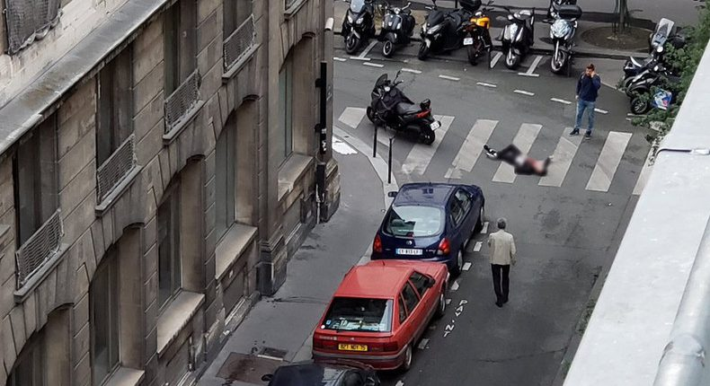 French Stabbing in France - again, Khamzat Azimov