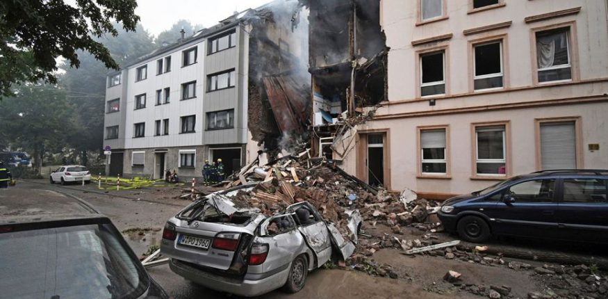 Gas Explosion in Germany